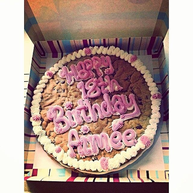 Amazing Millies Cookie Birthday Cake Photograph By Aimee Tyreman Funny Birthday Cards Online Overcheapnameinfo