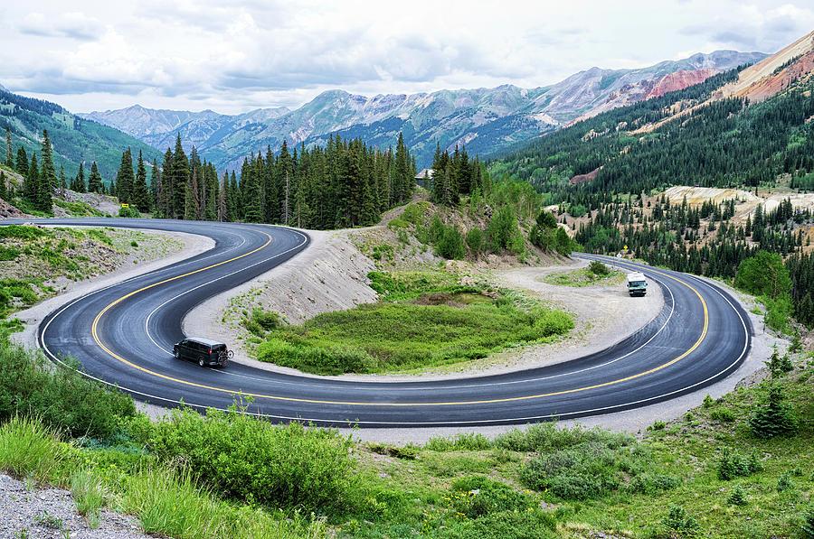 Million Dollar Highway Photograph by Audun Bakke Andersen