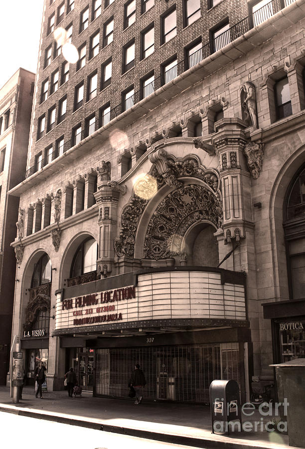Million Dollar Theater Photograph - Million Dollar Theater - Los Angeles by Gregory Dyer