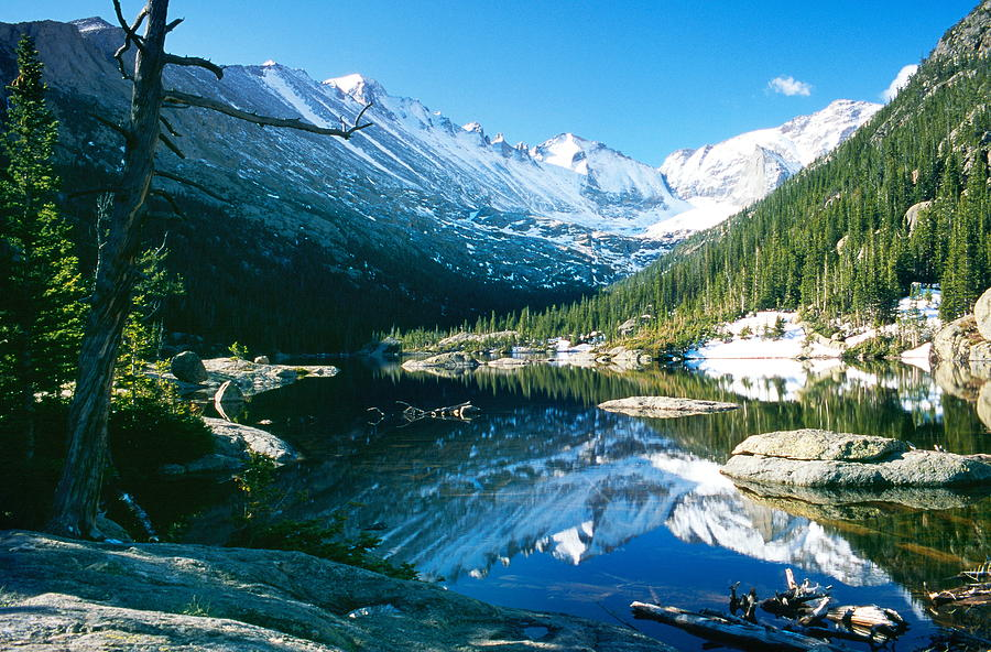 Landscape Photograph - Mills Lake by Eric Glaser