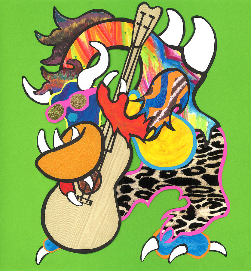 Milo the Musician by Michael Andrew Frain