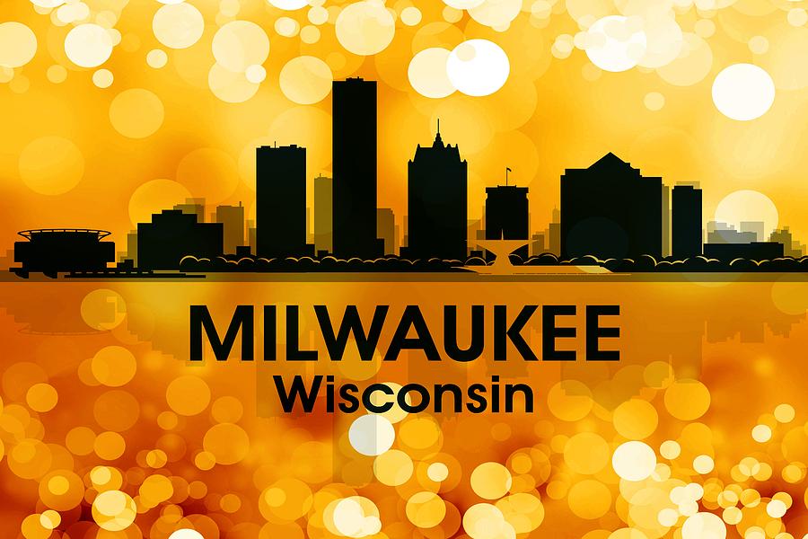 Milwaukee Mixed Media - Milwaukee Wi 3 by Angelina Vick