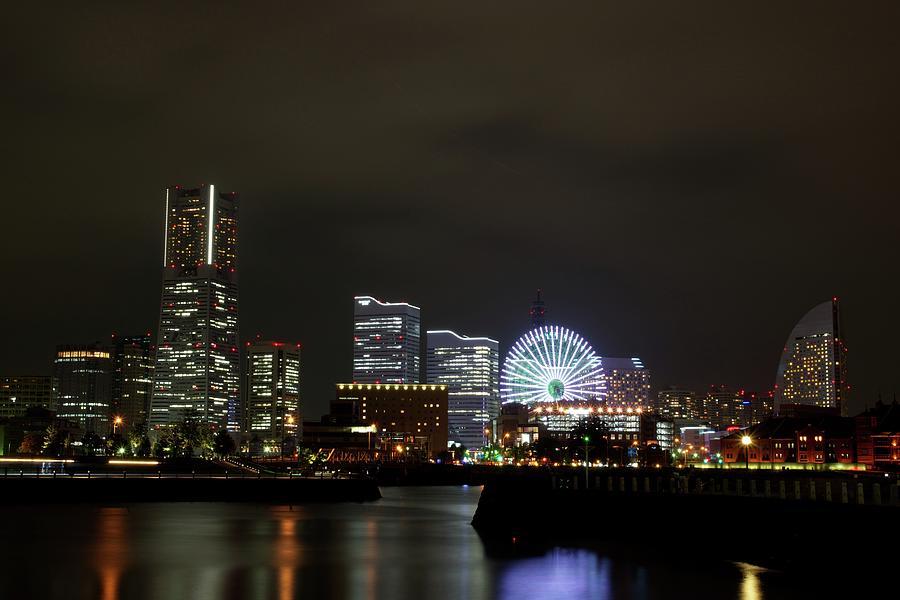 Minato-mirai Photograph by Takuya.skd