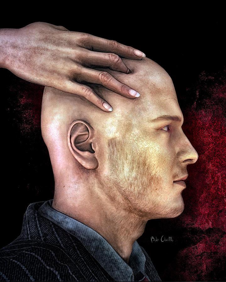 Social Digital Art - Mind Control by Bob Orsillo