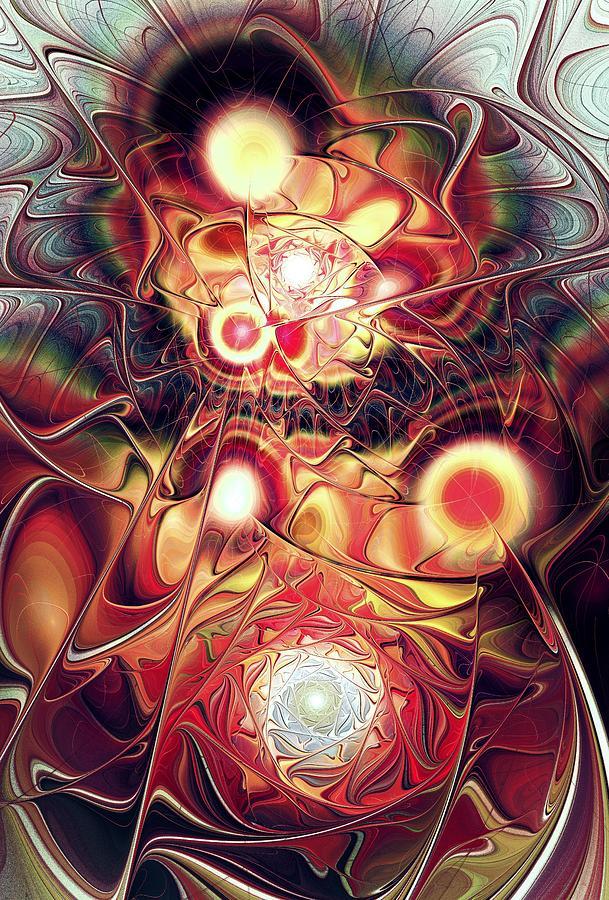 Malakhova Digital Art - Mind Meld by Anastasiya Malakhova