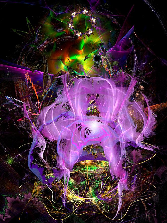 Mindflower Bloom In Eternal Spring Digital Art