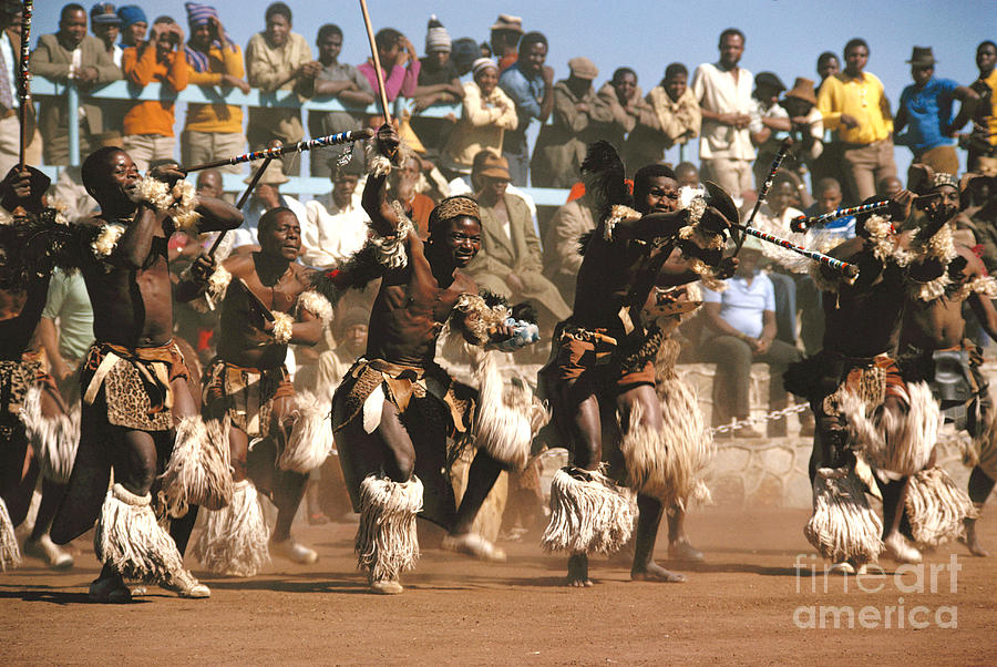 South Africa Photograph - Mine Dancers South Africa by Susan McCartney