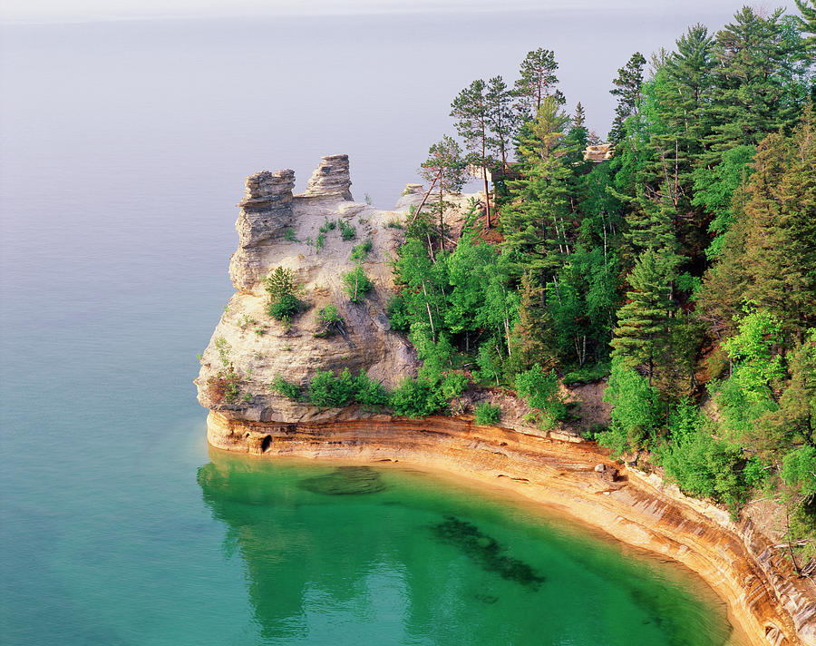 Miners Castle In Pictured Rocks Photograph by Danita Delimont