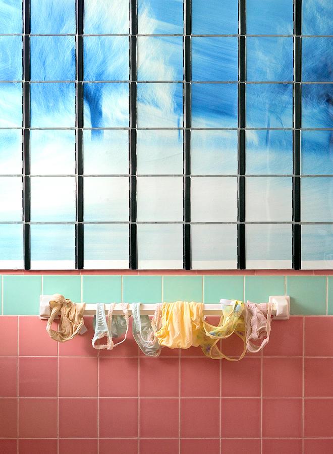 Laundry Photograph - Mini Laundry by Daniel Furon