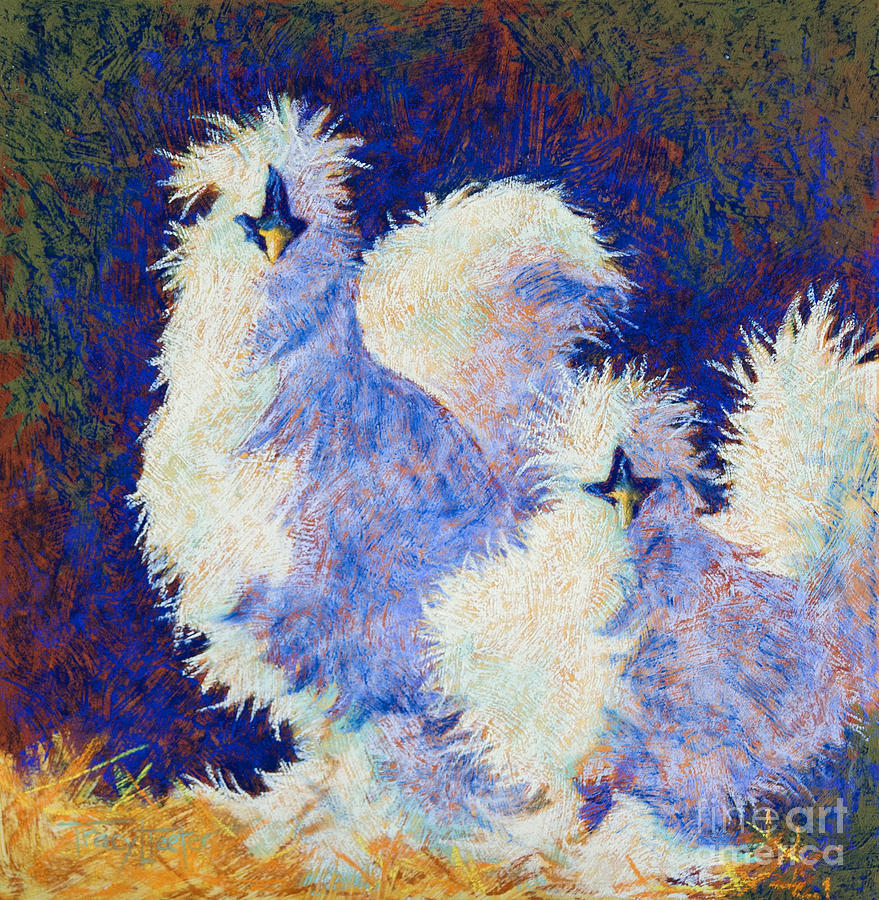 Silkie Pastel - Mini Me by Tracy L Teeter