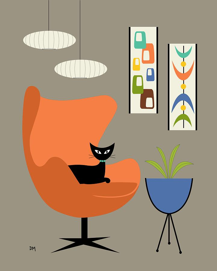 Mini oblongs and mobile digital art by donna mibus - Mid century mobel ...