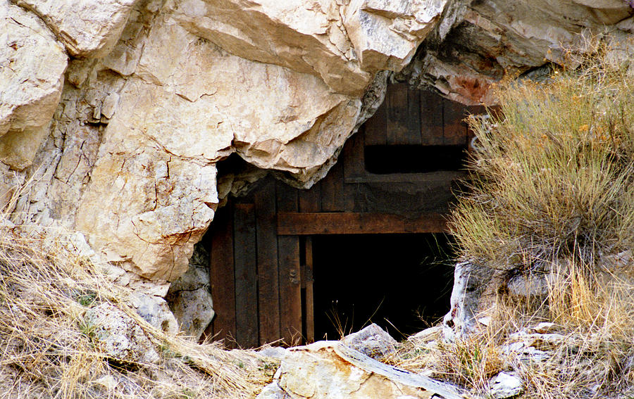Danger Photograph - Mining Backbone by Minnie Lippiatt