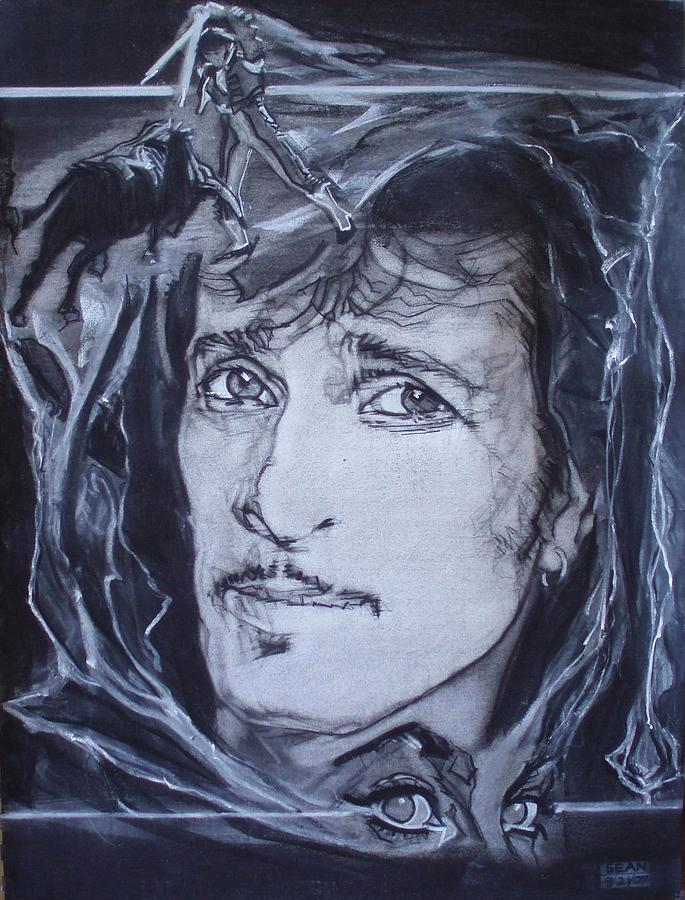 Willy Deville - Coup De Grace Drawing by Sean Connolly