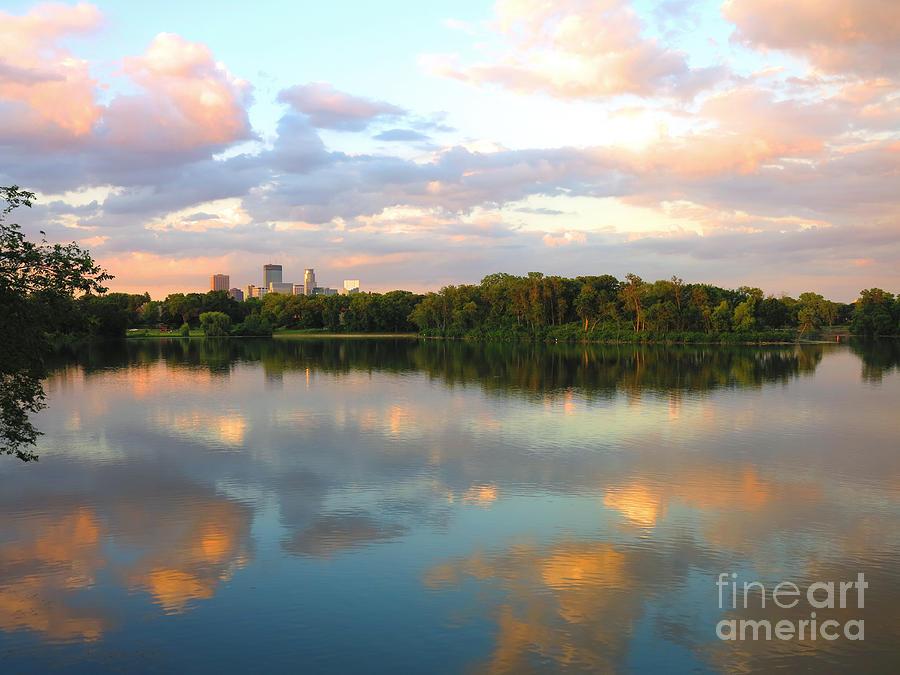 Minneapolis Photograph - Minneapolis Lakes by Heidi Hermes