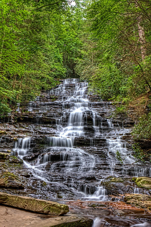 Minnehaha Falls by Gerald Adams