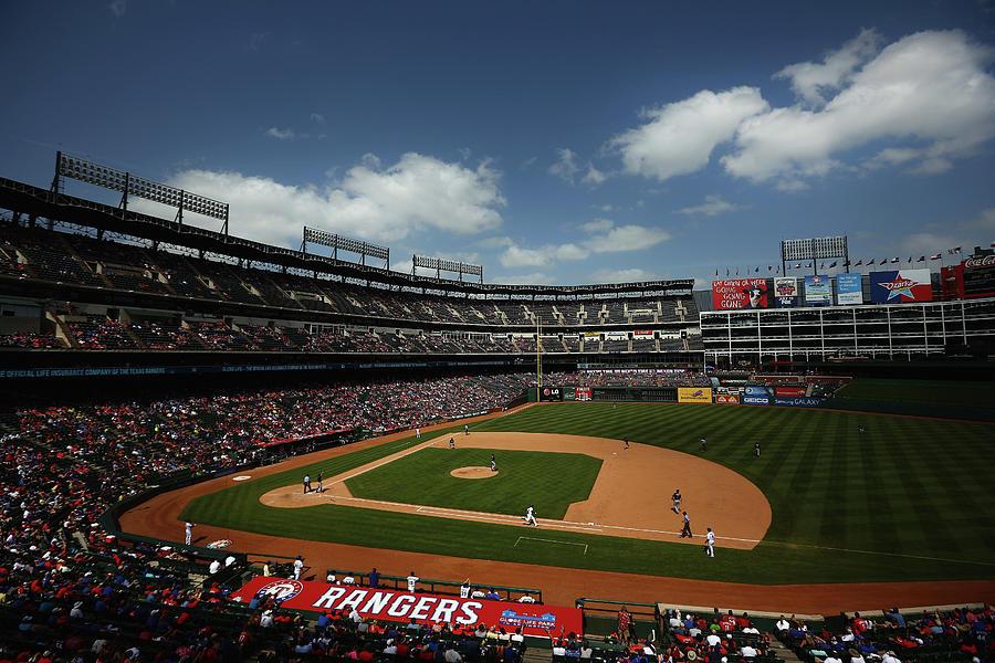 Minnesota Twins V Texas Rangers Photograph by Tom Pennington