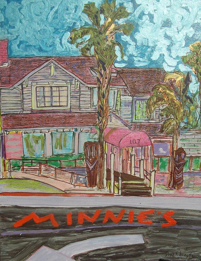 Minnie's Painting - Minnie S Restaurant by James Christiansen