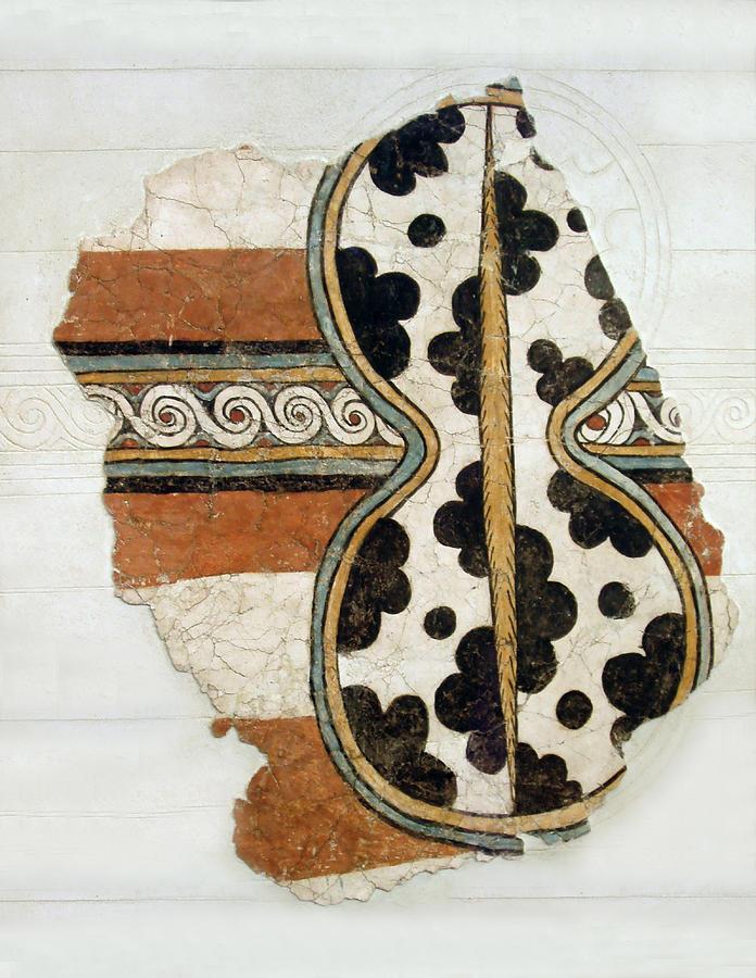 Cow Photograph - Minoan Livestock Painting by Ellen Henneke