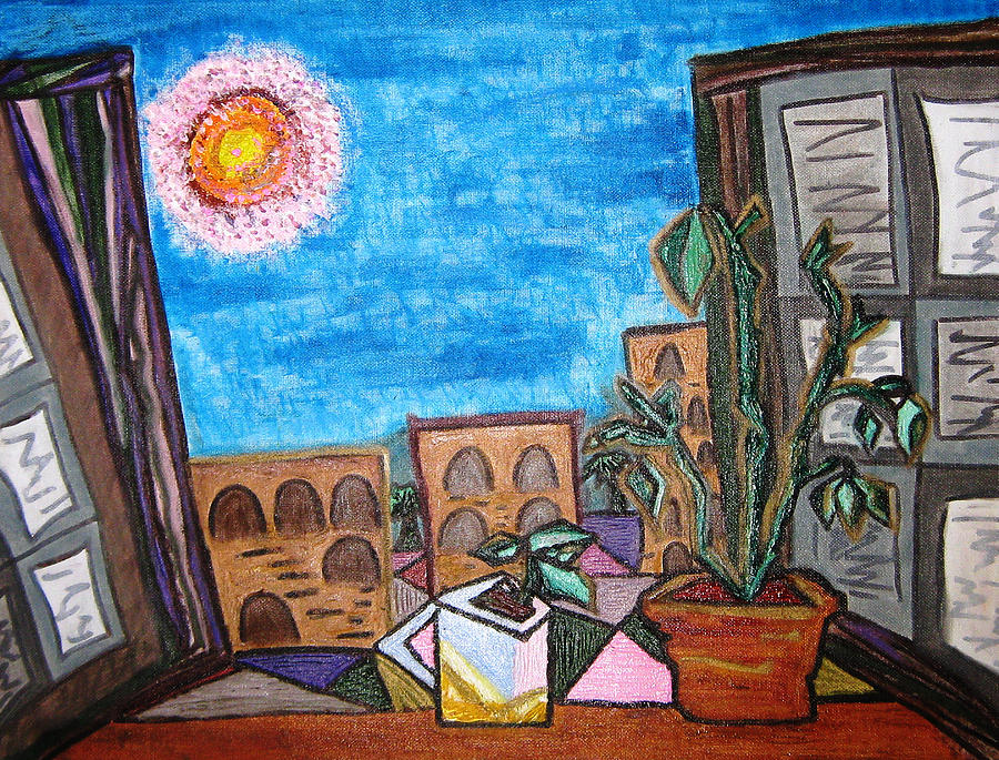 Picasso Painting - Mint Plant Tea Mediterranean  by Lois Picasso