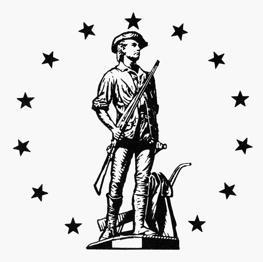 18th Century Photograph - Minuteman by Granger