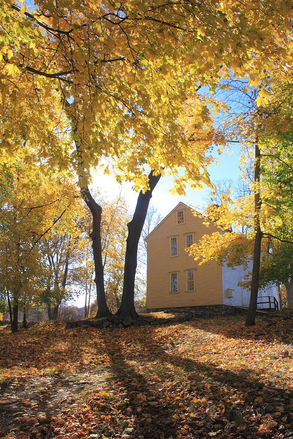 Concord Photograph - Minuteman National Historic Park Brooks House by John Burk