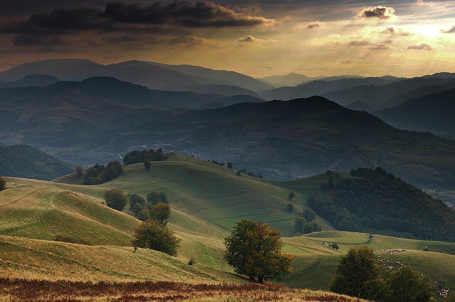 Hills Photograph - Mioritic by Ovidiu Satmari