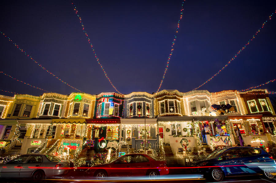 34th street photograph miracle on 34th street baltimore by geoffrey baker - Baltimore 34th Street Christmas Lights