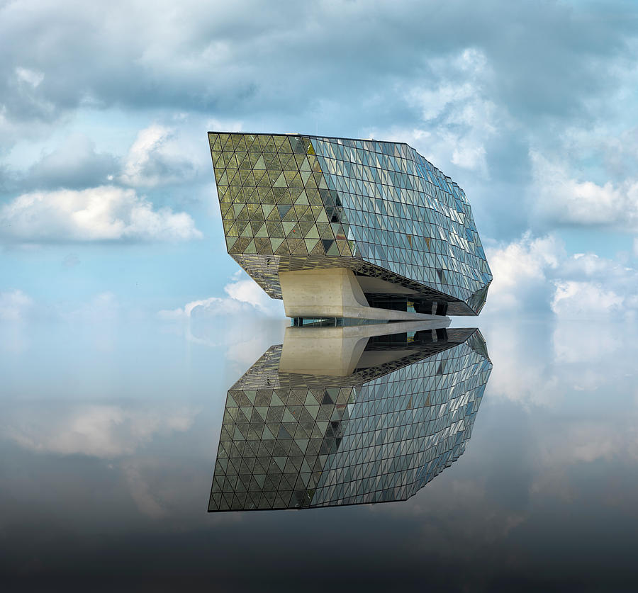 Architecture Photograph - Mirage by Greetje Van Son