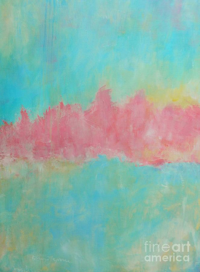 Abstract Painting - Mirage by Kate Marion Lapierre