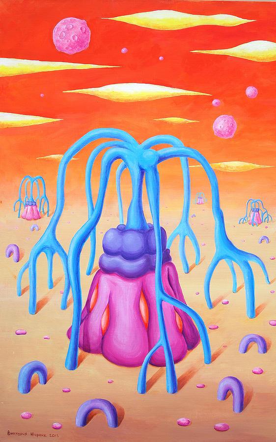 Distance Painting - Mirage by Victoria Zhornik