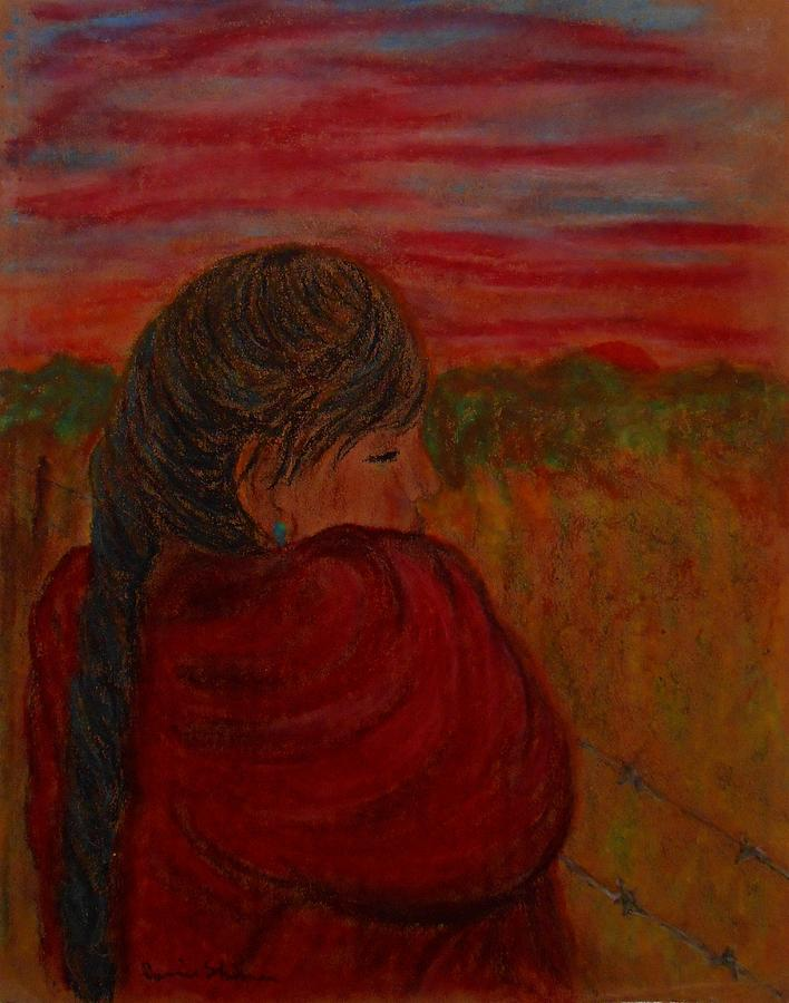 Sunset Pastel - Miriams Sunset by Carrie Viscome Skinner