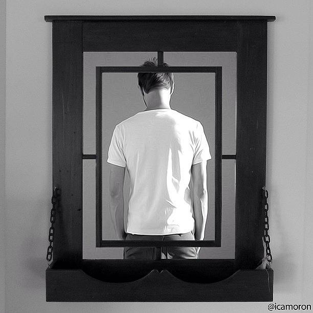 Mystery Photograph - Mirror by Cameron Bentley