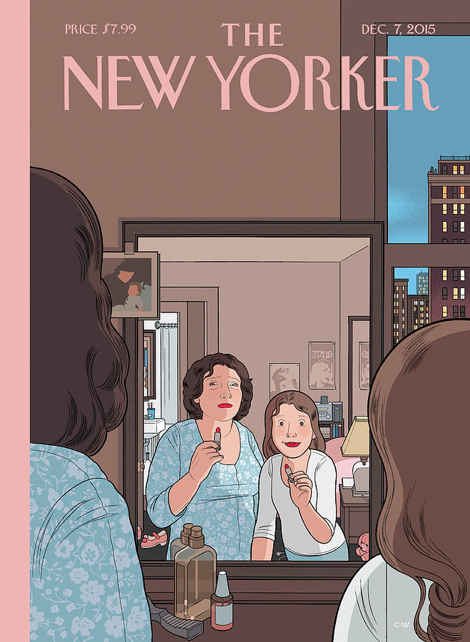 Mirror Painting by Chris Ware