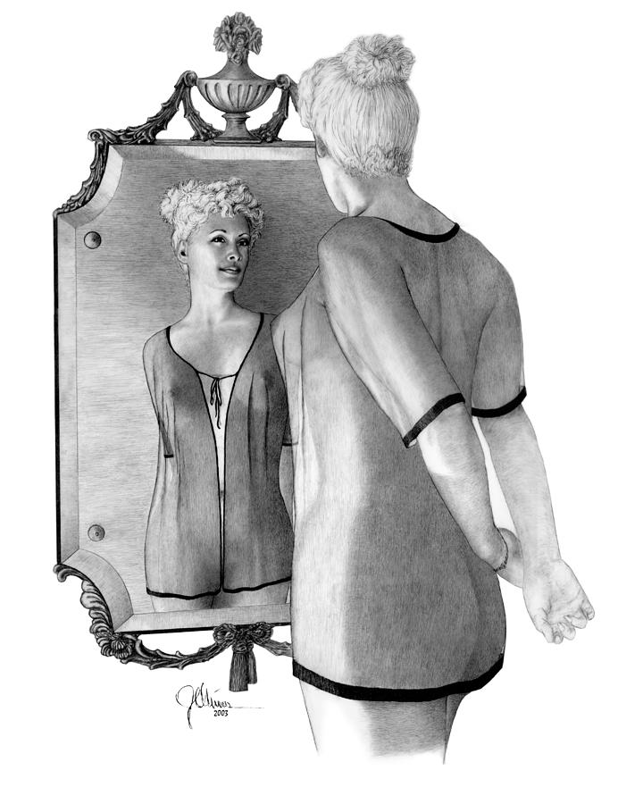Framed Acrylic Mirror