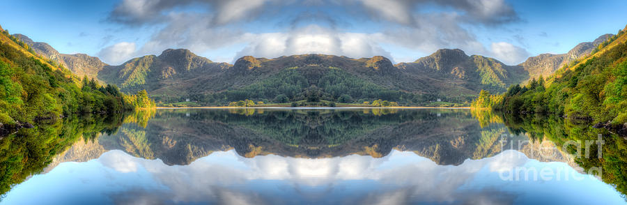 Hdr Photograph - Mirror Lake by Adrian Evans