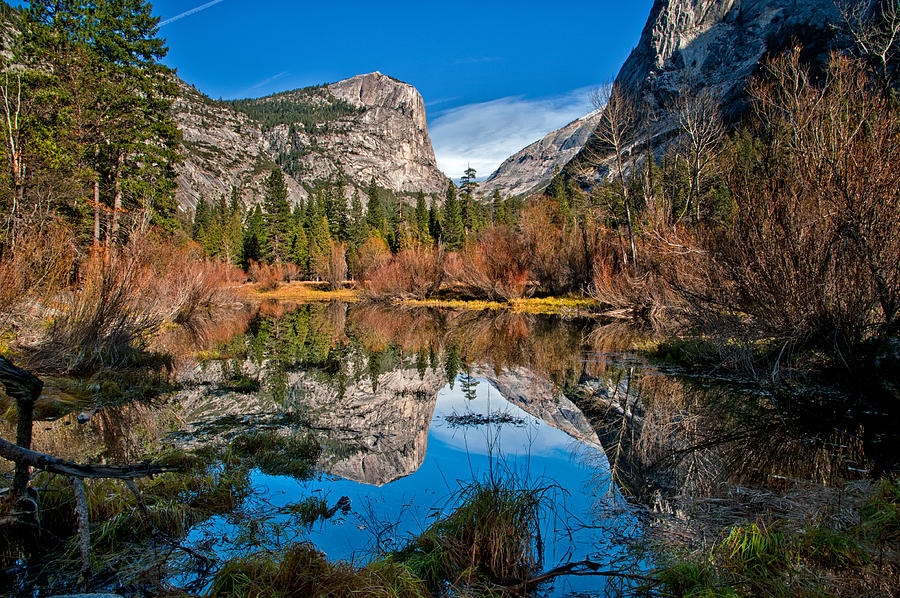Lake Photograph - Mirror Lake by Cat Connor