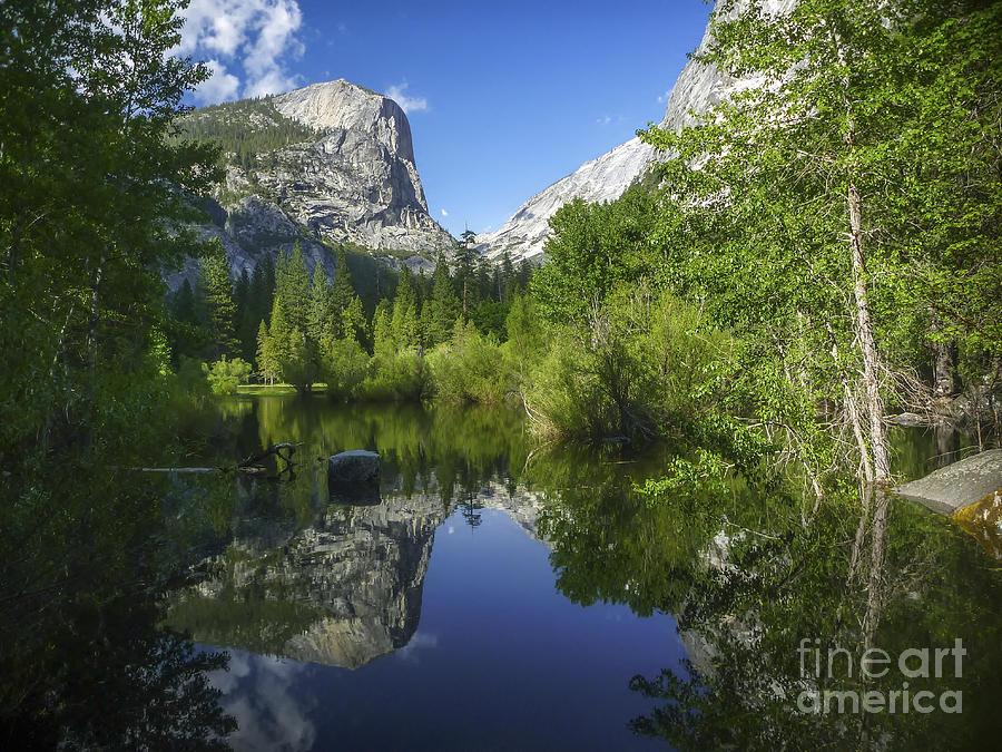 Mirror Lake Photograph - Mirror Lake by Cheryl Wood