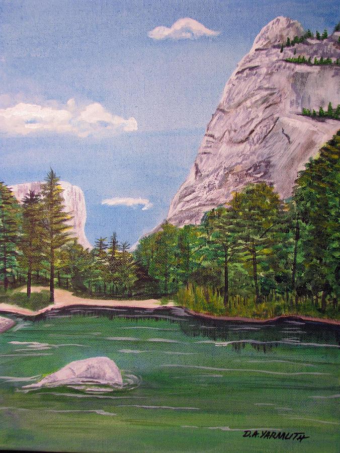 Mirror Lake Yosemite by Dale Yarmuth