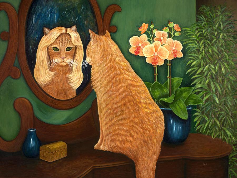 Mirror Mirror on the Wall Painting by Karen Zuk Rosenblatt