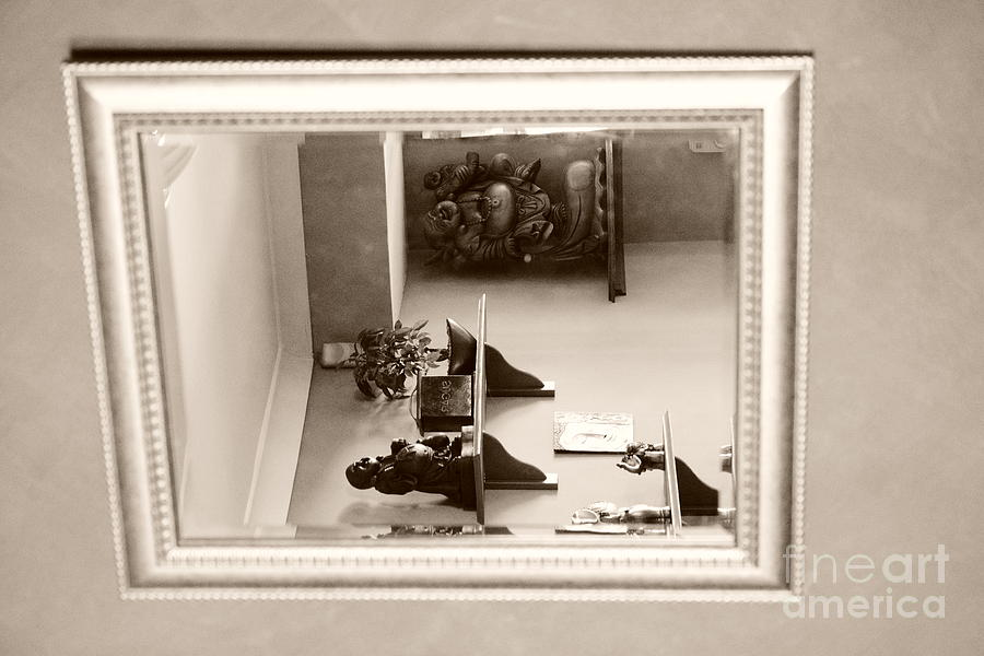 Black And White Photography Digital Art - Mirror On The Wall  by Bobby Mandal