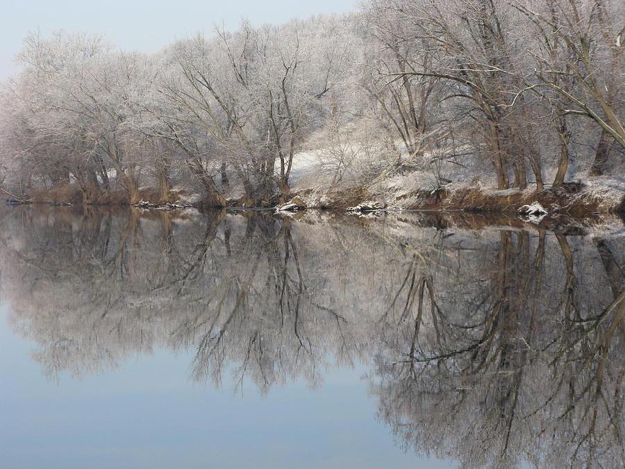 Landscape Photograph - Mirrored Image by Laura Corebello