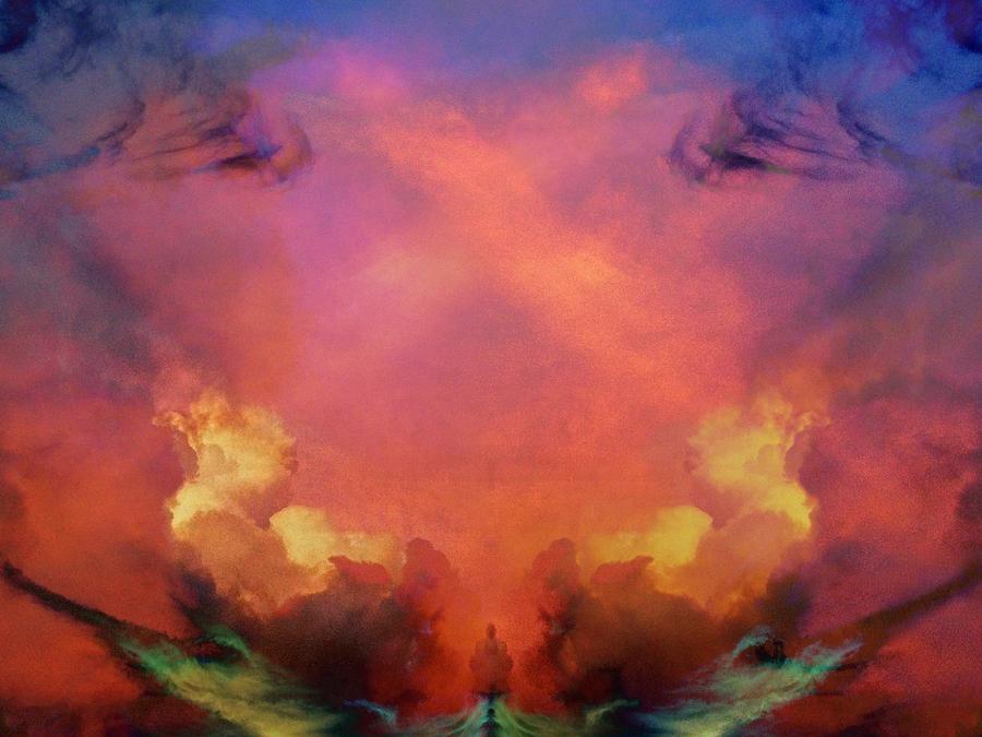 Mirrored Sky by Carol Whaley Addassi