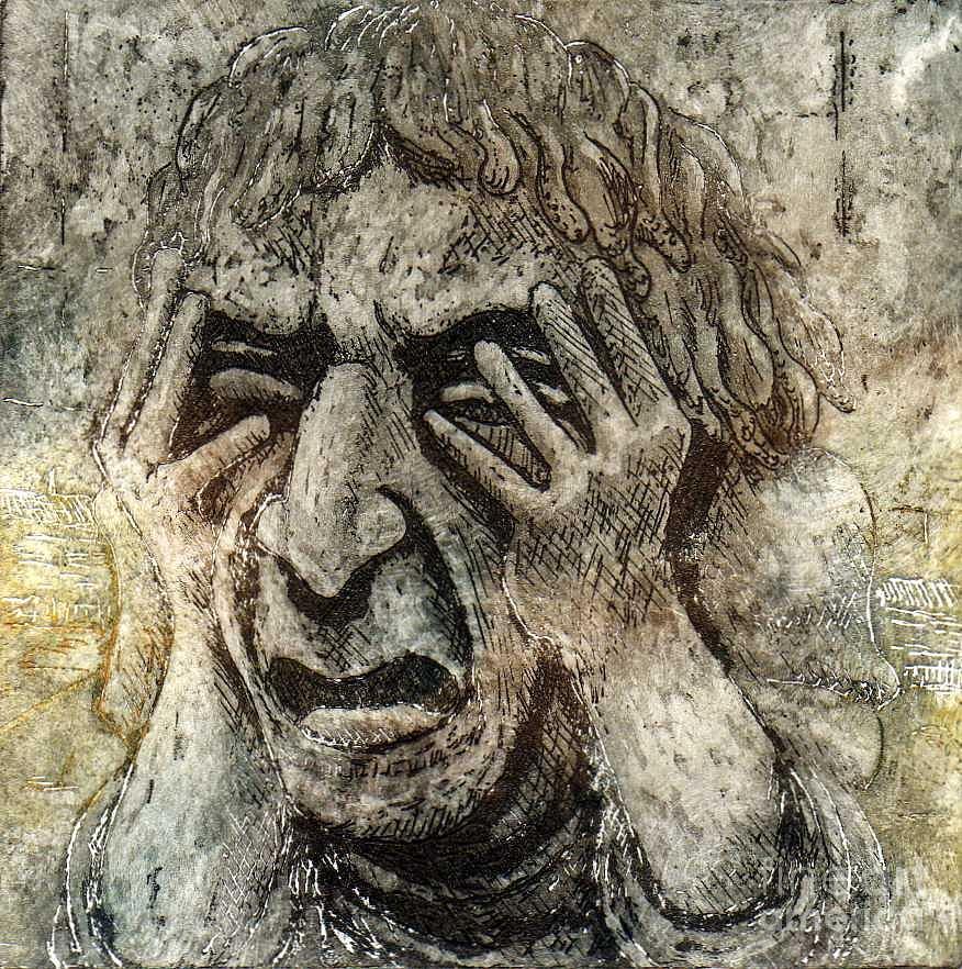 Gargoyle Relief - Misery by Suzette Broad