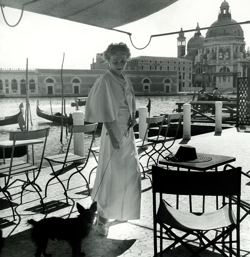 Misia Sert In Venice Photograph by Horst P. Horst