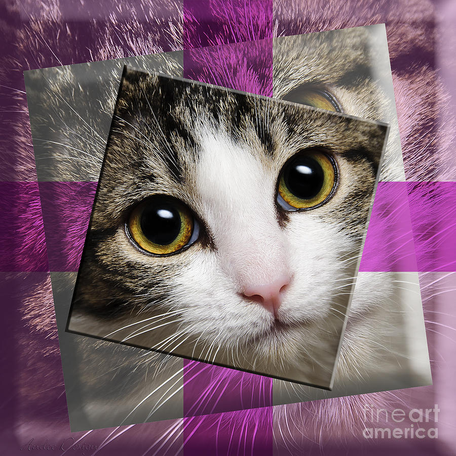 Abstract Photograph - Miss Tilly The Gift 3 by Andee Design