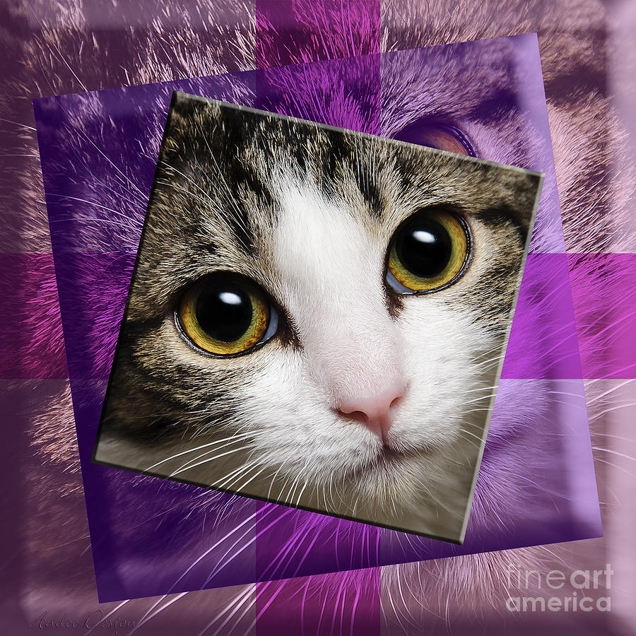 Abstract Photograph - Miss Tilly The Gift 4 by Andee Design