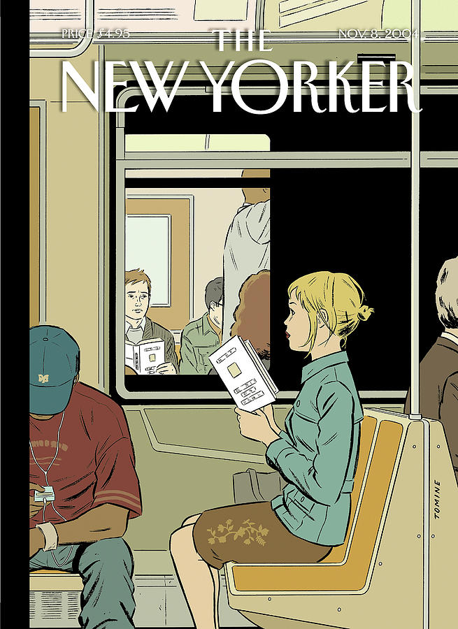 Missed Connection Painting by Adrian Tomine