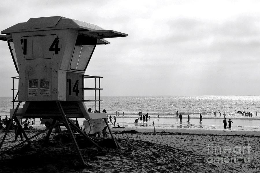 United States Of America Photograph - Mission Beach San Diego by David Gardener