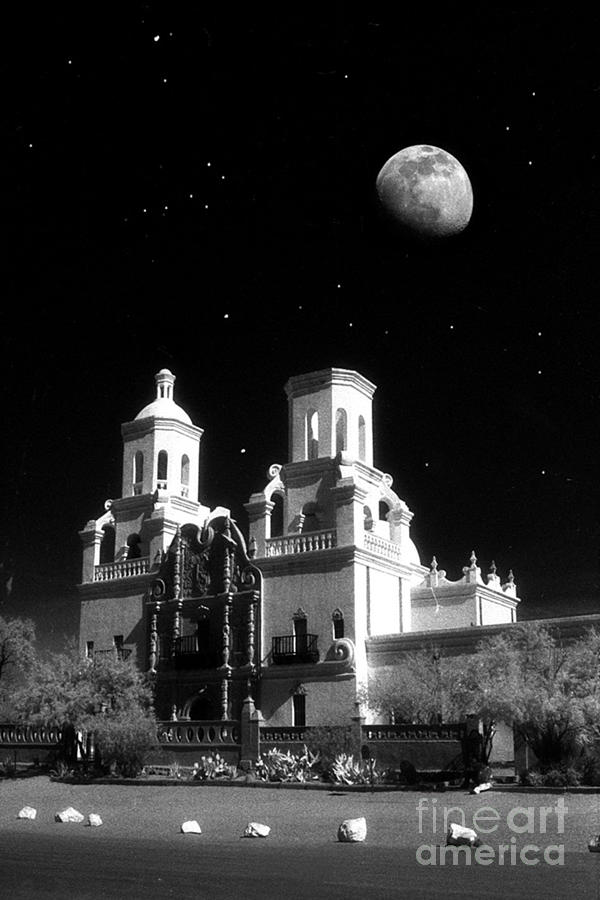 Old Mission Photograph - Mission Del Bac by Robert Kleppin