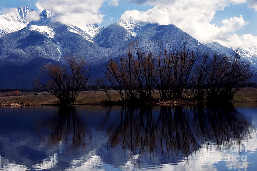 Mission Mountains Photograph - Mission Mountains Montana by Thomas R Fletcher